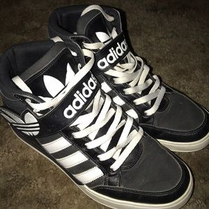 Retro Vintage Hightop Adidas